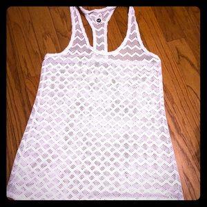 Roxy garden summers crochet beach dress